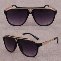 Vazrobe Mens Brand Sunglasses Women Luxury Designer Famous Sun Glasses for Man Black Anti Reflection Fashion Style UV400