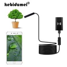 WIFI אנדוסקופ מצלמה מיני עמיד למים קשה כבל פיקוח מצלמה 8mm 1/2/3.5/5 M USB אנדוסקופ Borescope אנדוסקופ עבור Iphone