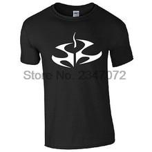 Camiseta de logotipo hitman-agente 47 otto ort-meyer símbolo inspirado masculino gaming top