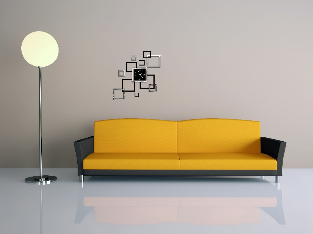 Decoration murale salon moderne maison design for Decoration murale moderne