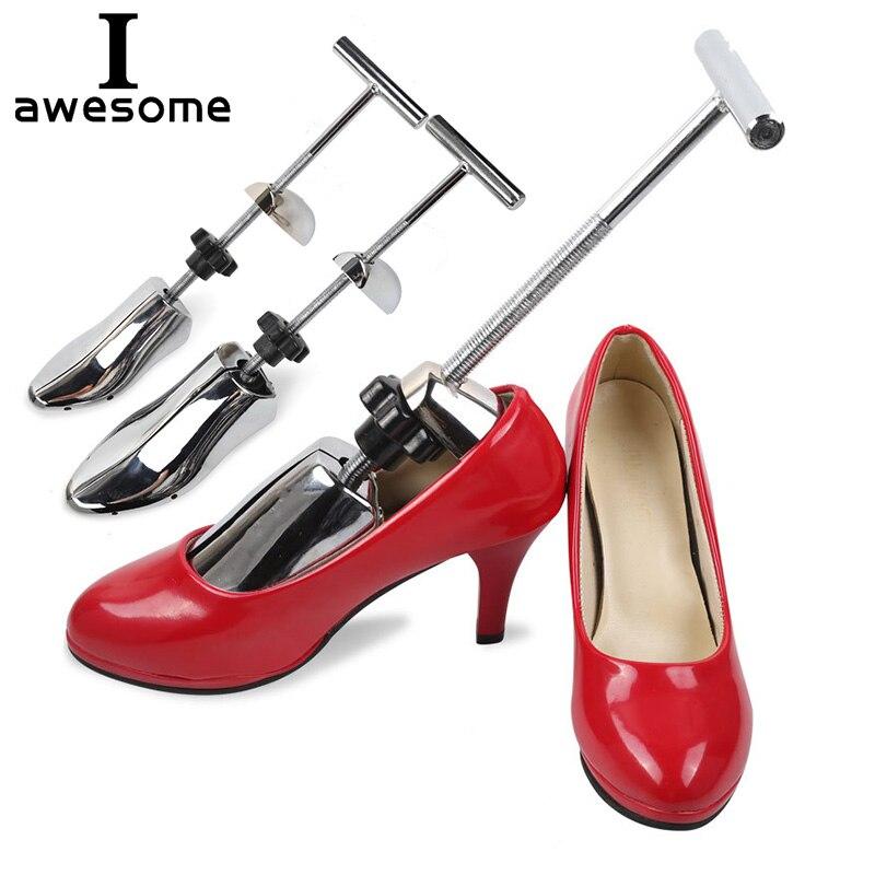 Árvores da sapata de Alumínio Do Metal Do Vintage Nova Chegada Sapato Expansor Maca Sapato Formas Ajustável Árvore sapatos Para Homens e Mulheres