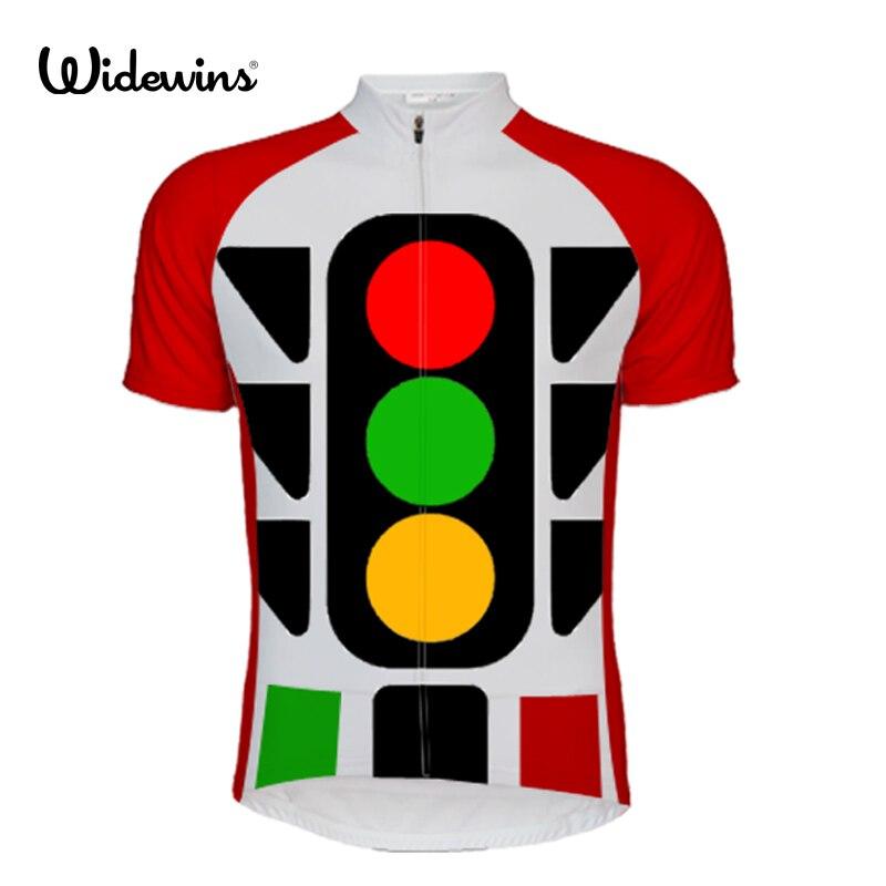 Traffic lights Summer Cycling Jersey Cycling clothing Bike bicycle shirts short sleeve bike Cycling sportswear Shirt tops 5665