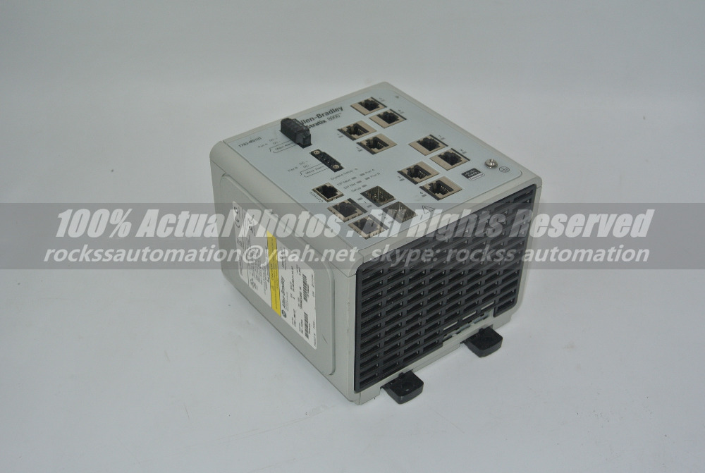 Stratix 8000 Ethernet Managed Switch 1783-MS10T Used 100% Tested With Free DHL /EMS used 100% tested ut38e