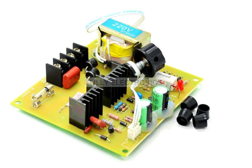 Input AC220V Output DC220V Motor Speed Controller 750w pwm dc motor governor dc speed regulation power supply wk622 input ac220v output dc220v