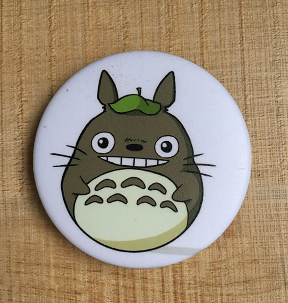 6Pcs My Neighbor Totoro Brooches Pins