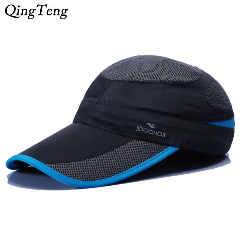 Fashion Snapback Baseball Caps 2018 Net Lengthened Visor Golf Hats  Wholesale Snapback Hat Cap Adjustable Trucker Hats Skateboard 0b9a95cc5f3