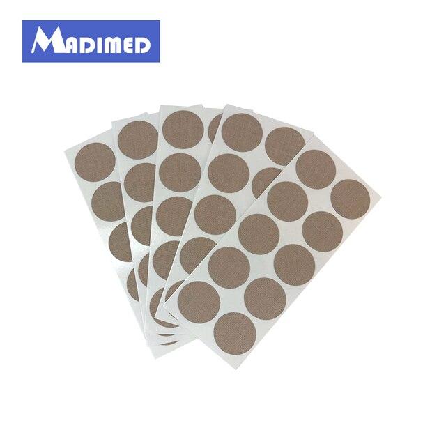 5 шт./лот титановые диски патч Магнитная терапия Пластырь от боли рельеф titan клейкие ленты массаж мышц расслабиться магнит лечение наклейки