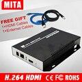 DHL Frete Grátis HD H.264 AVC HDMI iptv Wowza codificador para a transmissão Ao Vivo para o Youtube Facebook Ustream
