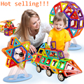 Mini 64PCS Magnetic Designer Construction Building Blocks Kids Toys Educational Plastic Bricks Technic Assembly Enlighten Blocks