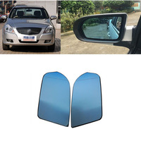 Gafas de espejo retrovisor lateral gran angular azul calentadas para Buick Excelle 2008 2011|view mirror|side rear view mirror|rear view mirror wide -