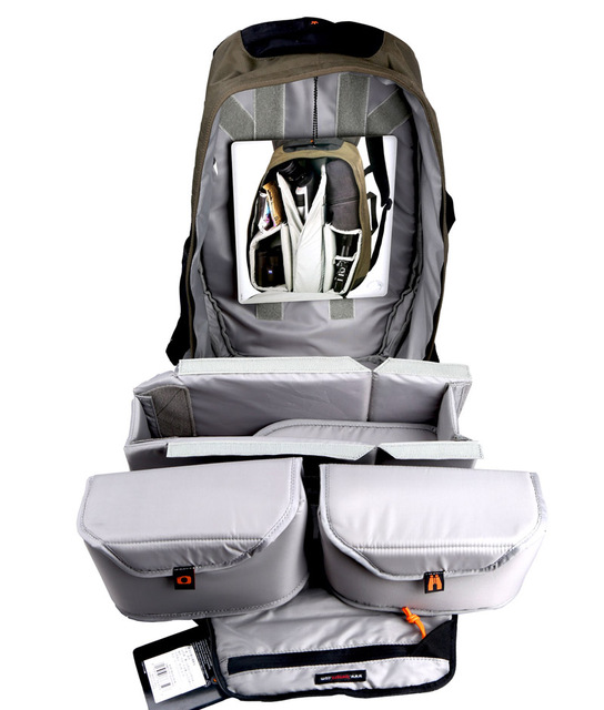 New arrival Lowepro Scope Travel 200 AW outdoor eyepiece telescope backpack SLR telephoto lens camera bag with rain cover
