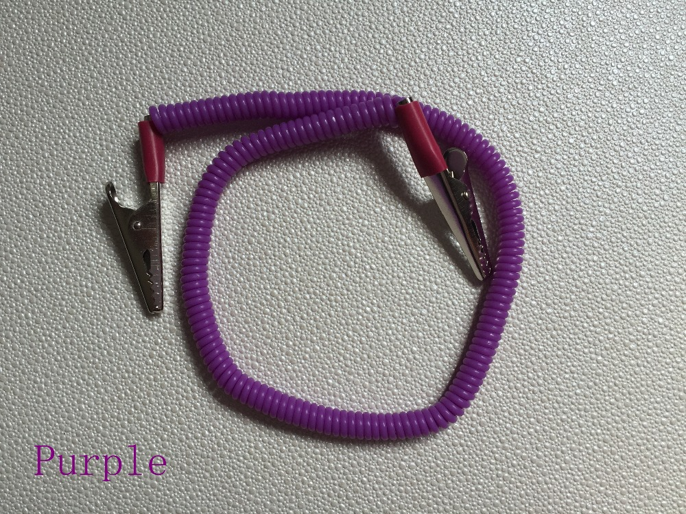 Teeth Whitening Hospitable 5pcs/set Purple Plastic Dental Bib Clips Flexible Napkin Holder Free Shipping