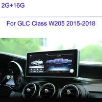 2G RAM 16G ROM Car Multimedia Player 10.25 Touch Screen for Merce des Ben z C GLC CLASS W205 2015 2016 2017