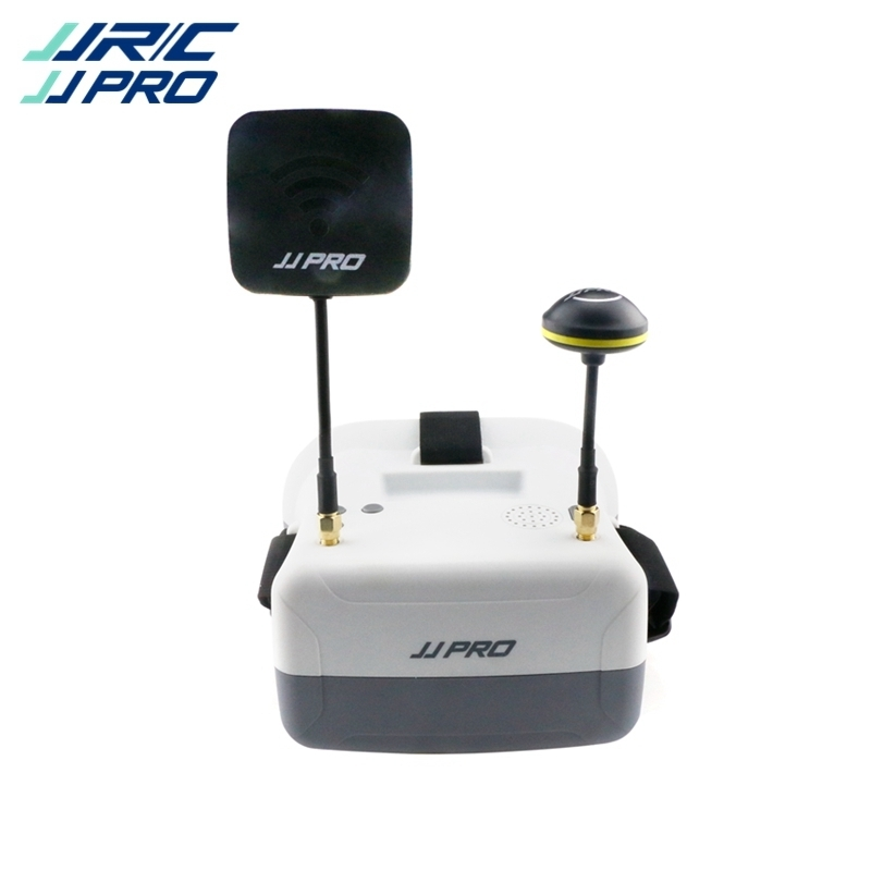 Preorder JJRC JJPRO F02 5.8GHz 4.3Inch 40CH FPV Goggles Headset VR Glasses for RC Racing Drone Quadcopter Helicopter VS F01 jjrc jjpro p175 5 8g 40ch fpv rc racing drone arf