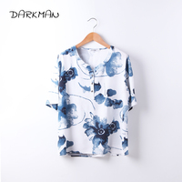 2017 Mew Darkman 5XL 4XL Fashion Short Sleeve White Shirt Blue Yellow Green Plus Size Women
