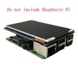 Image 3 - التوت بي 3.5 بوصة LCD 800x480 60fps TFT شاشة HD عالية السرعة وحدة LCD 3.5 عرض ل Pi 3B + 2B B + صفر WH