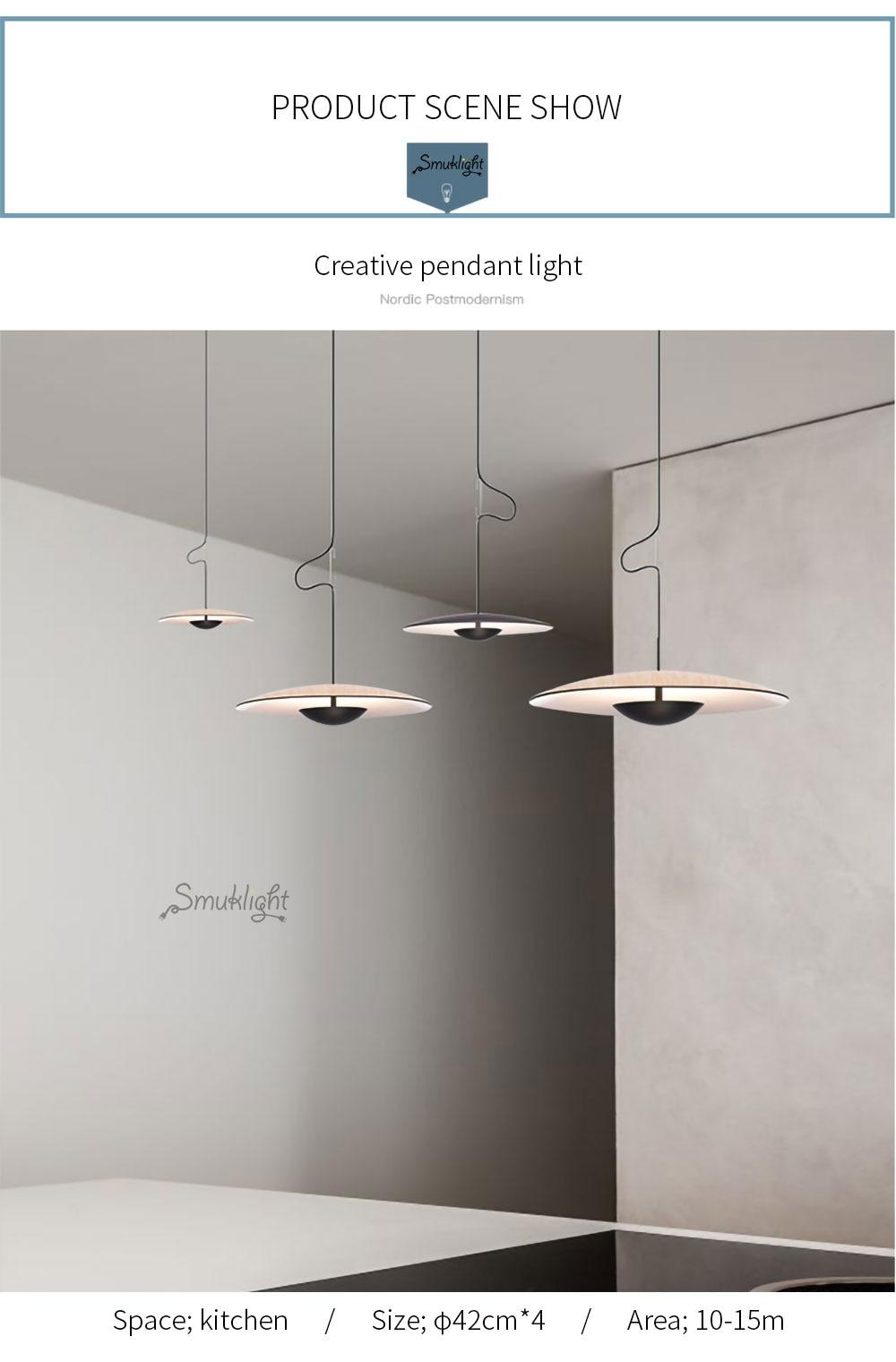 美式简约北欧现代艺术风格意大利设计师客厅餐厅床头吧台卧室吊灯_05