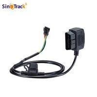 Sinotrack cabo de extensão 12v 16  cabo conector obd obd2 obdii para rastreador gps