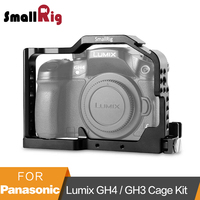 SmallRig Professional Camera Cage for Panasonic Lumix GH4 / GH3 with Built in Side Nato Rail and HDMI lock 1585