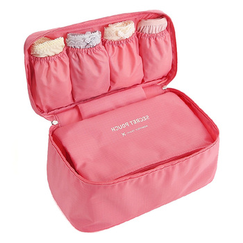Travel Waterproof Storage Bag Portable Luggage Organizer Closet Divider Container Bags Clothes Underwear Bra Packing Cube