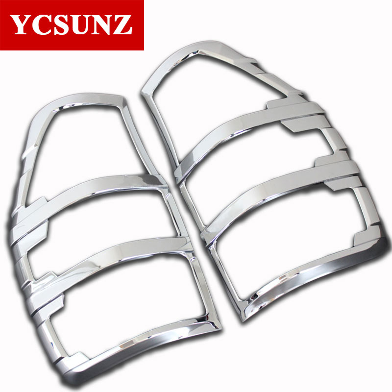 Car Styling ABS Chrome Tail Lights Covers For FORD RANGER T7 wildtrak 2012-2019Car Styling ABS Chrome Tail Lights Covers For FORD RANGER T7 wildtrak 2012-2019