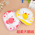 Baby pillow cotton velvet pillow case slant correction pillow