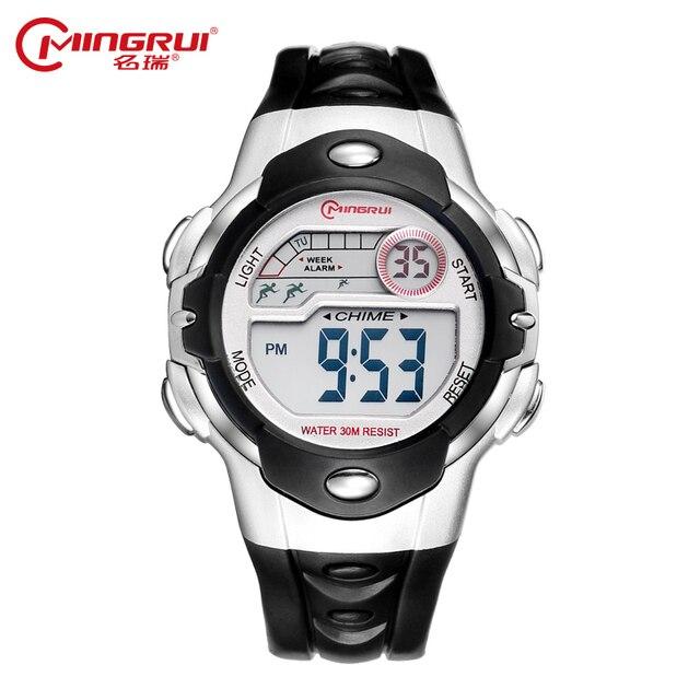 56813aad5388 MINGRUI de marca de lujo para hombre deportes relojes de buceo LED Digital  Reloj militar de