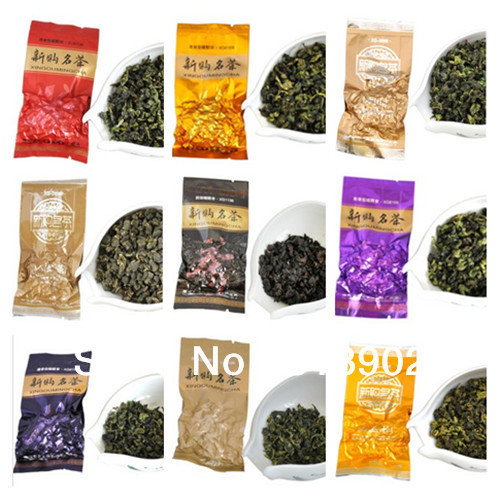 20pcs Different kinds Premium Tieguanyin Chinese oolong tea silk oolong tea 160g with free shipping