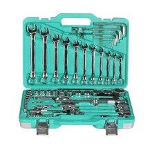 Набор инструментов Sturm! 1045-20-S77 (77 предметов, комбинированные ключи, шестигранные ключи, торцевые головки, биты, трещотки и др.)