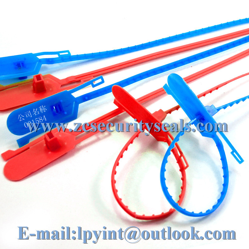 Security Seals Pull Tight Plastic Strips Nylon Ties