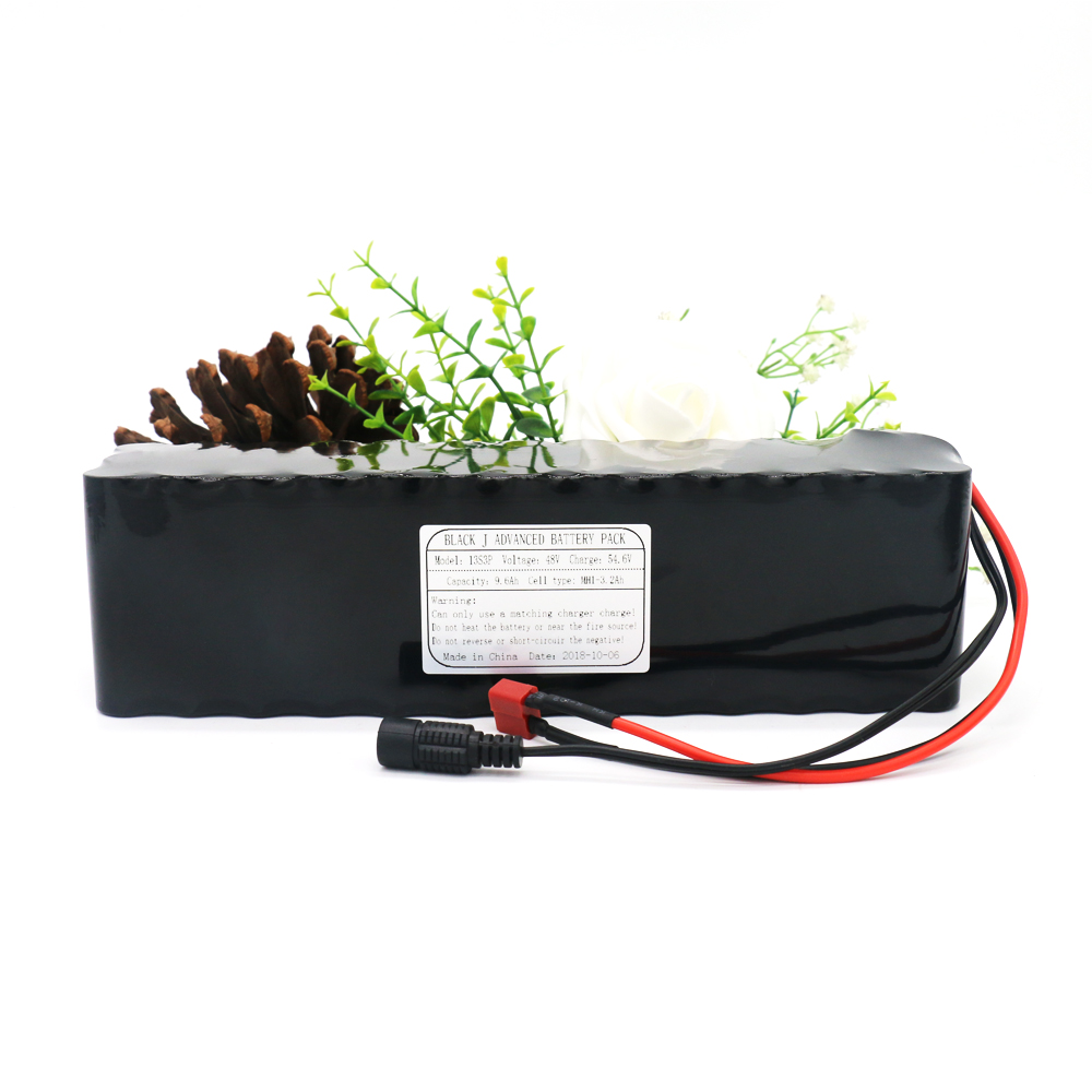 KLUOSI 48V9.6Ah 13S3P MH1 for 800Watt with 25A Balance BMS 54.6V Lithium Battery Pack Ebike Electric Car Bicycle Motor ScooterKLUOSI 48V9.6Ah 13S3P MH1 for 800Watt with 25A Balance BMS 54.6V Lithium Battery Pack Ebike Electric Car Bicycle Motor Scooter