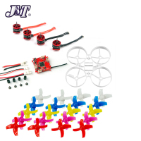 JMT 75mm Indoor Brushless Bwhoop Racer Drone Combo Set Frame Kit & Crazybee F3 FC ESC & SE0703 Motor & 40mm 4 Paddles Propeller