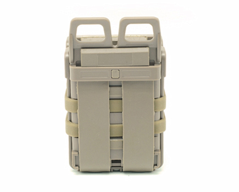Free Shipping Best Coyote Airsoft Rifle 5.56 Mag M4 Magazine Fast Attach Tactical Pouch Molle System Tan For Tactical vest belt