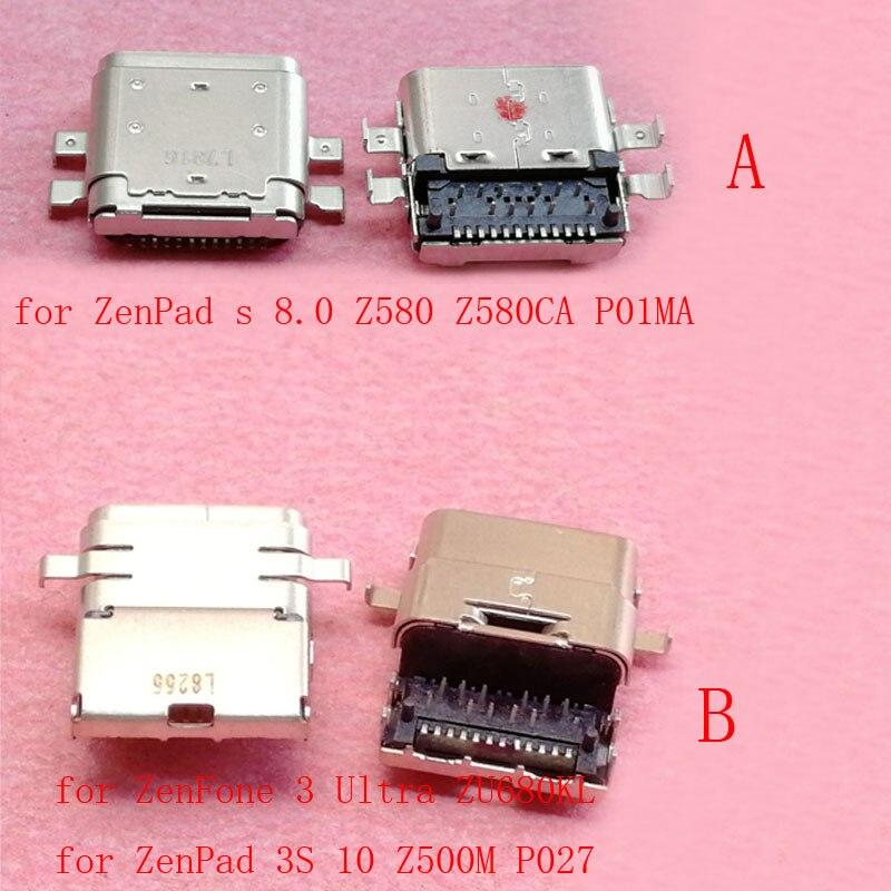 2X USB Charging Port Data Sync DC Power Jack for ASUS ZenPad 3S 10 Z500M P027