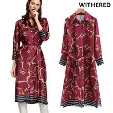 dbe67bdacb38ff Verdorde jurk vrouwen vestido stain Totems print verzamel taille party  dress maxi jurk vrouwen plus size vestidos verano 2018 to.