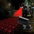 12 v Motocicleta Carro de Laser Luzes de Nevoeiro Moto Legal À Prova D' Água Luz Da Cauda Da Motocicleta Rear Brake Ligue Lâmpada Do Laser Carro Acessórios