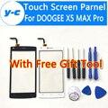 Doogee x5 pro max tela sensível ao toque de alta qualidade 100% novo substituição do painel de vidro digitador da tela para doogee x5 pro max telefone