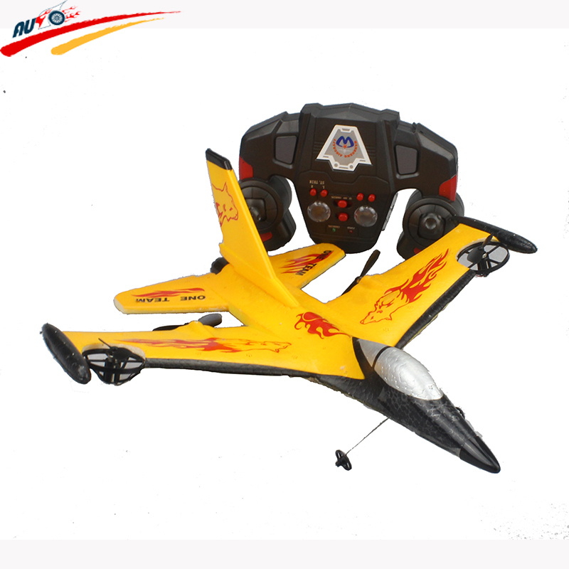 все цены на RC Plane 2.4G Fighter F16 Fixed Wing 4CH Remote Control Plane Fighter Glider EPP Shatter Resistant Plane Model Toy