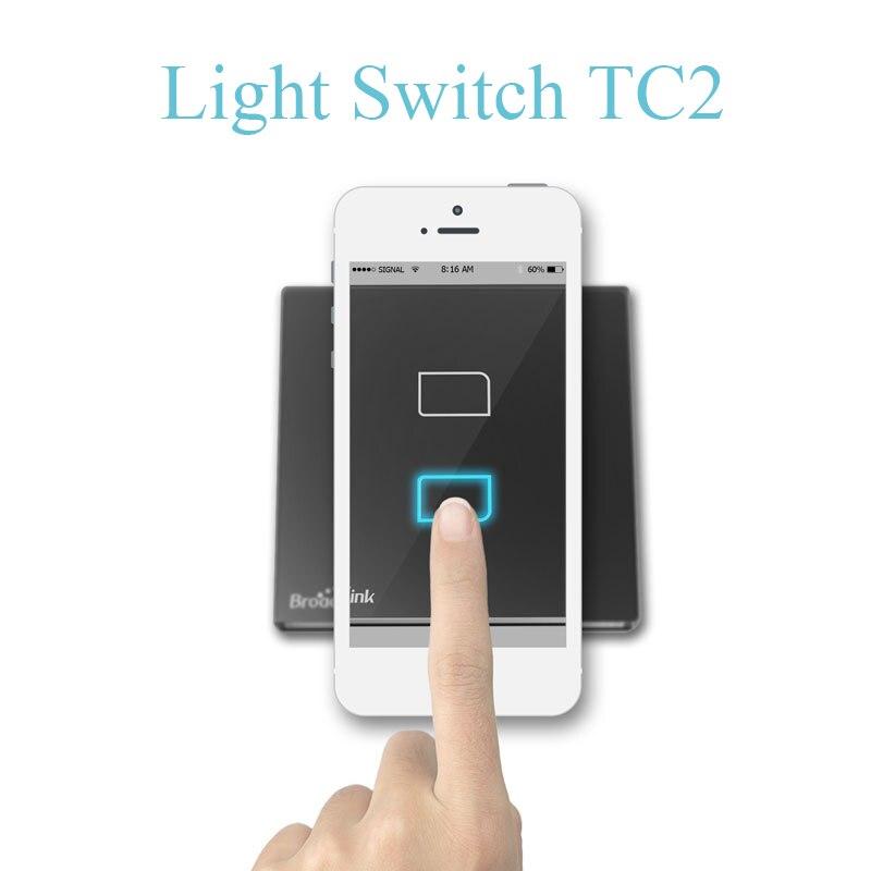 Original Broadlink TC2 US TC2 Touching 1gang Panel WiFi Switch IOS ...