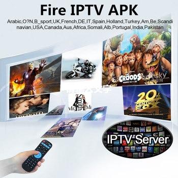 HAOSIHD android tv box 2018 iptv brasil Fire tv box free 2500