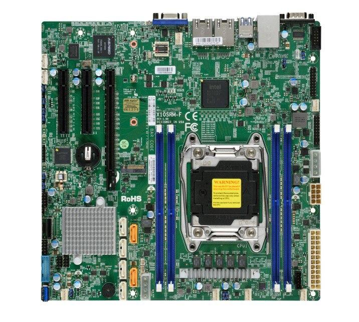 OEM X10SRM-F Server Board C612 E5V3V4 Dual Gigabit M.2 Interface 2011 Pin