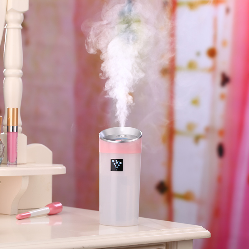 300ML Ultrasonik Nəmləndirici USB Avtomobil Nəmləndiricisi Mini Aroma Essential Oil Diffuser Aromaterapiya Mist Maker Ev Office