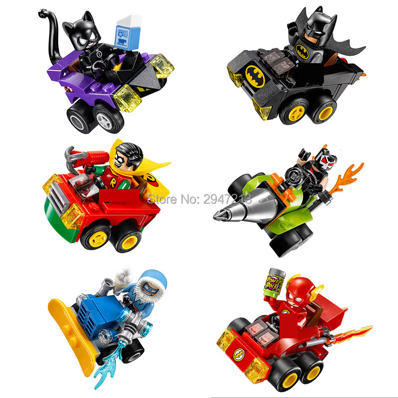 hot compatible LegoINGlys Marvel Super hero Avengers War chariot Building Blocks Batman Catwoman figures brick toys for Children uncanny avengers unity volume 3 civil war ii