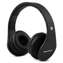 V2.1 Broadcore caliente portable Plegable Auriculares Estéreo de auriculares de música Inalámbrica Bluetooth micrófono para iphone 6 s plus samsung