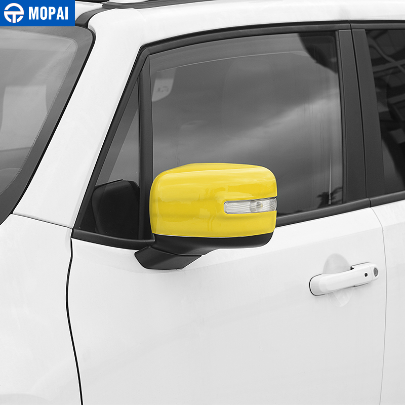 Image 5 - MOPAI Car Rearview Mirror Decoration Cover Stickers for Jeep Renegade 2015 Up Exterior Rear View Mirror Accessories Car Styling-in Mirror & Covers from Automobiles & Motorcycles