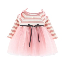 Lovely Princess Dress Cotton Lace Tutu Dresses Toddler Spring Girls