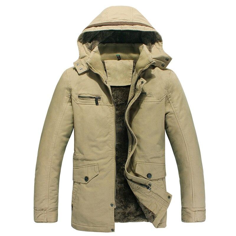 TUOLUNIU Cazadora casual de algodón para hombres de invierno - Ropa de hombre - foto 2