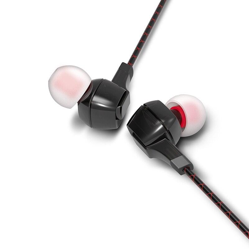 FIIO F1 Monitores de Ouvido fones de ouvido de alta performance Dinâmica potencial Fone de Ouvido com microfone in-line remoto e jack de 3.5mm 120 centímetros