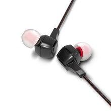 FIIO F1 dynamique dans loreille moniteurs écouteurs haute performance potentiel écouteur avec microphone en ligne et télécommande 3.5mm jack 120cm