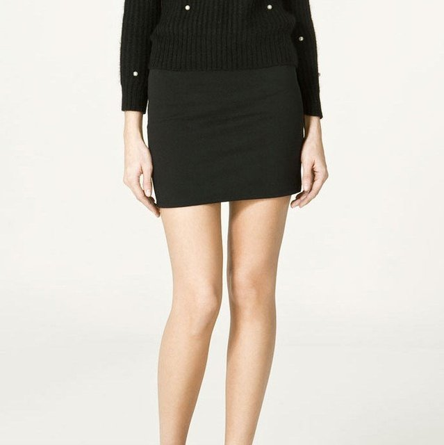 Short Pencil Skirts - Skirts